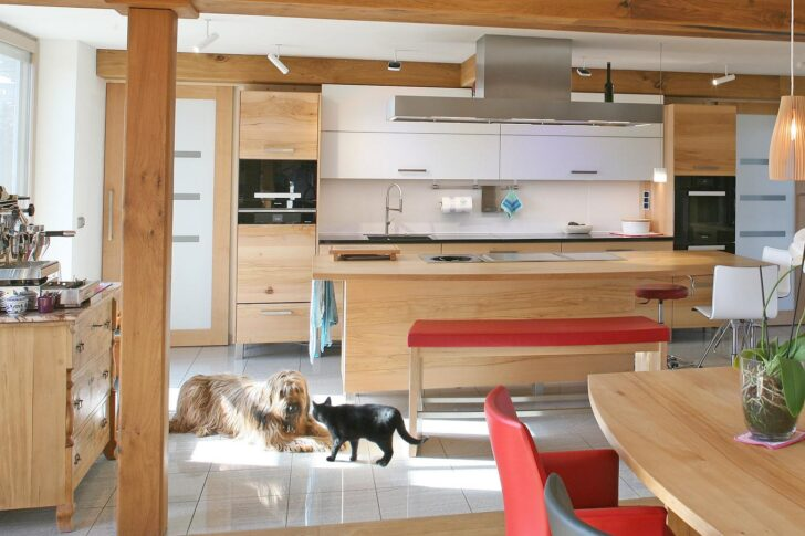 Medium Size of Massivholzküche Modern Massivholzkchen Modernes Sofa Bett Design Küche Weiss Esstisch Moderne Esstische Wohnzimmer Bilder 180x200 Deckenleuchte Fürs Tapete Wohnzimmer Massivholzküche Modern