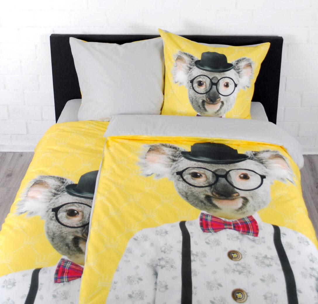 Large Size of Bettwäsche Lustig Bettwsche Digitaldruck 135x200 Cm Koala Jugendbettwsche T Shirt Lustige Sprüche T Shirt Wohnzimmer Bettwäsche Lustig