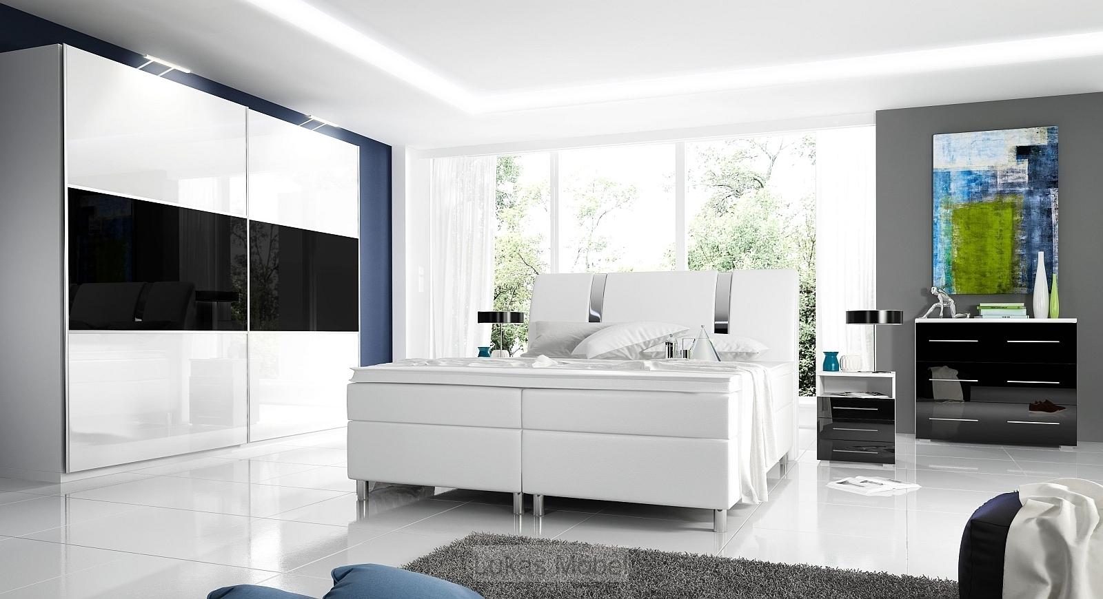 Full Size of Schlafzimmer Komplett Schwarz Weiss Schwarzeiche Hochglanz Rivabox Weiß Deckenleuchte Günstige Bett 160x200 Wandlampe Weißes Regal Mit überbau Set Matratze Wohnzimmer Schlafzimmer Komplett Schwarz