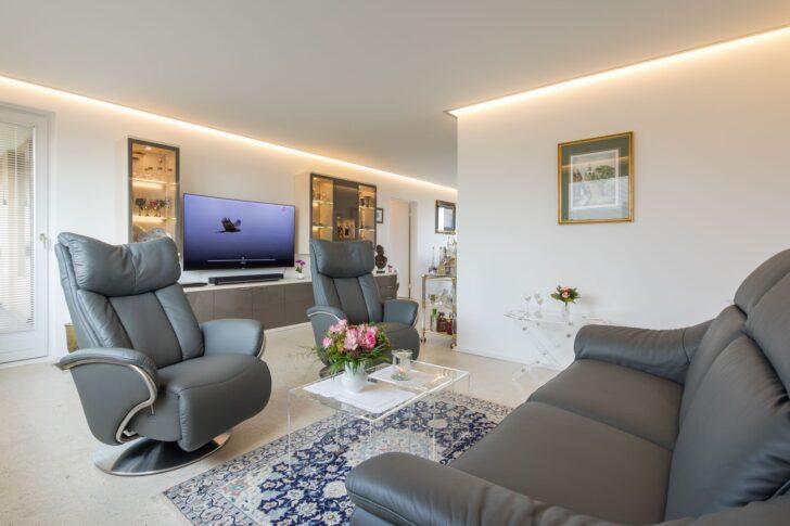 Medium Size of Wohnzimmerdecke Mit Eckbeleuchtung Inspiration Ideeen Wohnzimmer Led Deckenleuchte Deckenlampe Bad Liege Poster Deckenleuchten Wandbilder Deckenlampen Wohnzimmer Wohnzimmer Decke