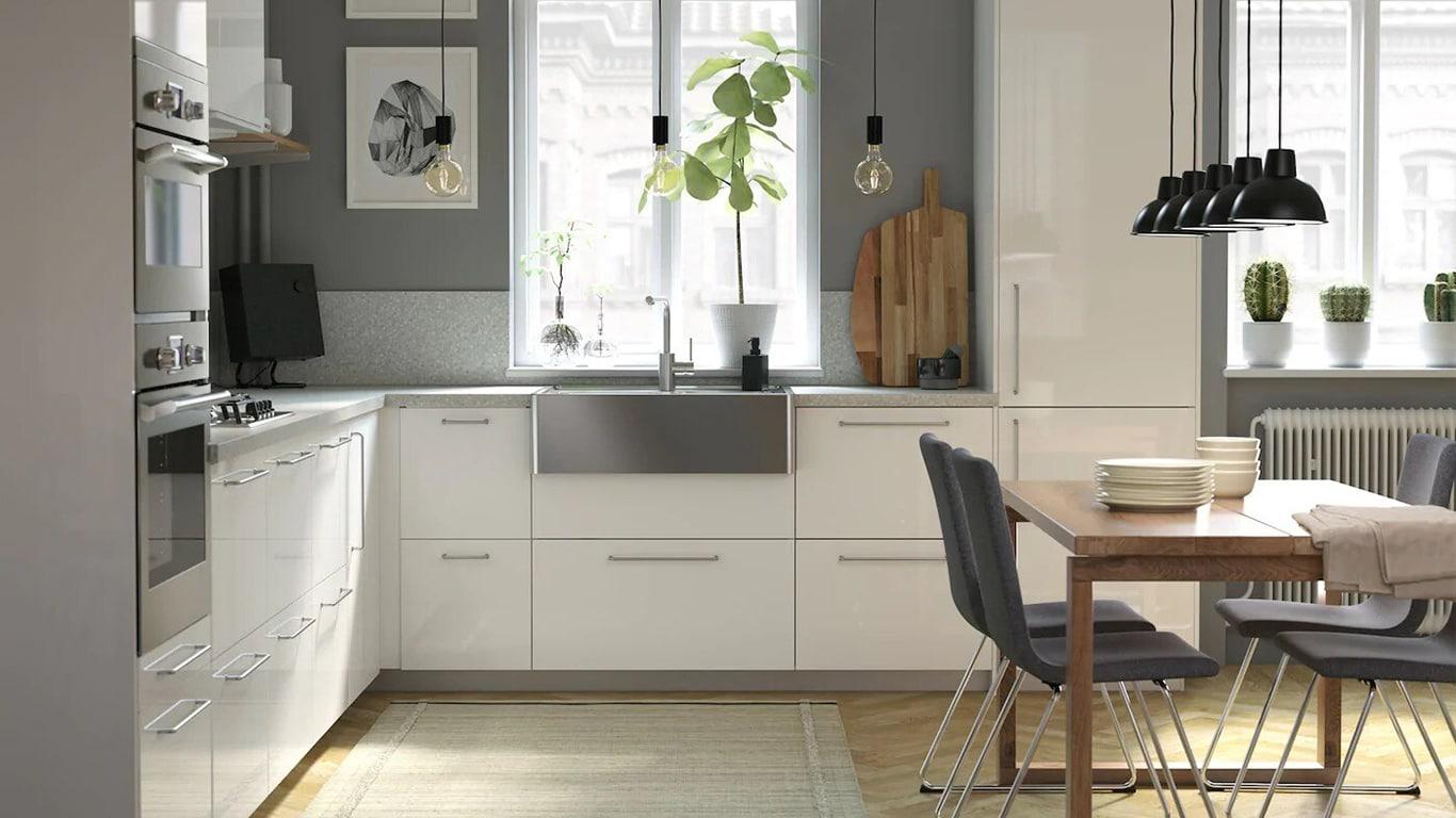 Full Size of Kche Kchenmbel Fr Dein Zuhause Ikea Deutschland Keramik Waschbecken Küche Kaufen Günstig Mit Elektrogeräten Ohne Geräte Hängeregal Granitplatten Wohnzimmer Gardinen Küche Ikea