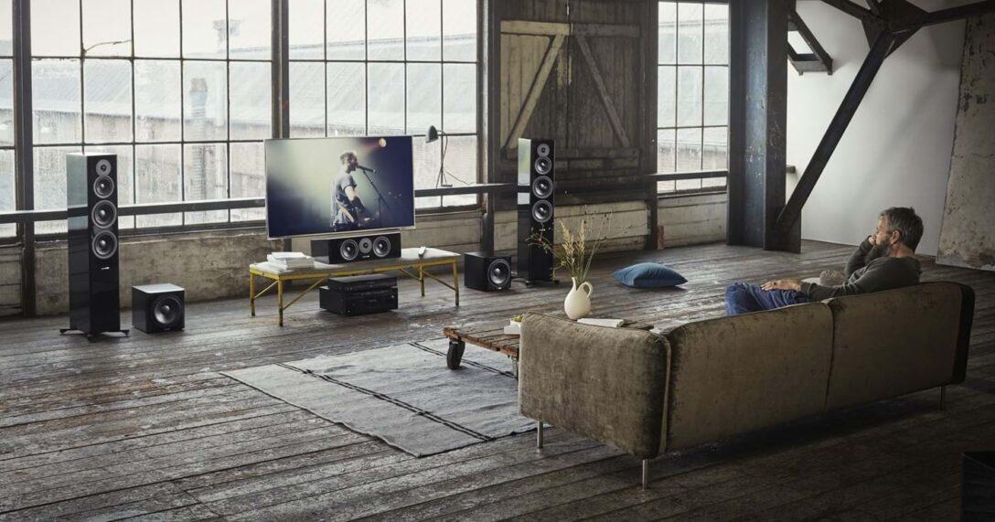 Large Size of Sofa Mit Musikboxen Wie Sie Sich Ein Heimkino Einrichten Big Schlaffunktion Led Elektrischer Sitztiefenverstellung Küche Kaufen Elektrogeräten Rolf Benz Wohnzimmer Sofa Mit Musikboxen