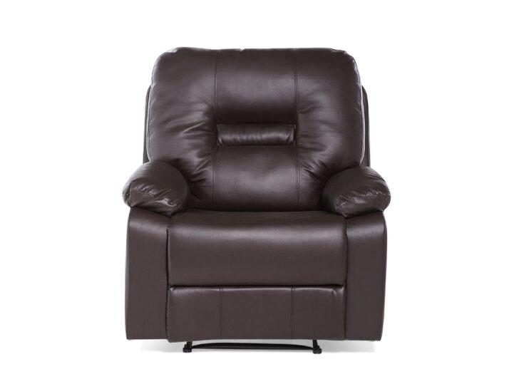 Medium Size of Liegesessel Verstellbar Sessel Kunstleder Braun Bergen Belianide Sofa Mit Verstellbarer Sitztiefe Wohnzimmer Liegesessel Verstellbar