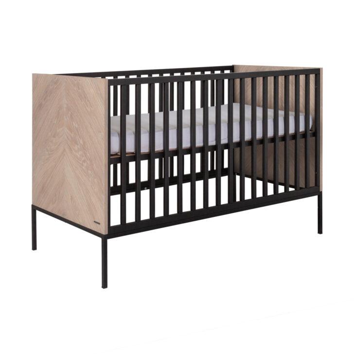 Medium Size of Kidsmill Vince Babybett 60 120 Cm Schwarze Küche Schwarzes Bett Schwarz Weiß 180x200 Wohnzimmer Babybett Schwarz