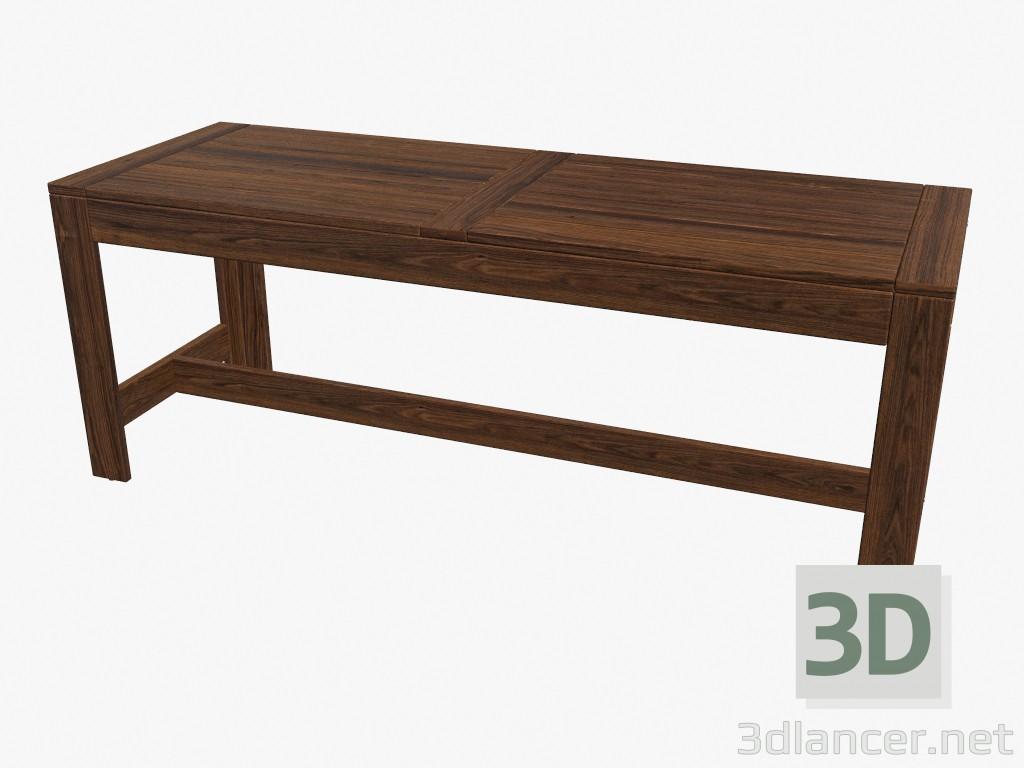 Full Size of 3d Model Sitzbank Bad Küche Ikea Kosten Miniküche Modulküche Sofa Mit Schlaffunktion Betten 160x200 Schlafzimmer Bett Lehne Garten Wohnzimmer Ikea Sitzbank