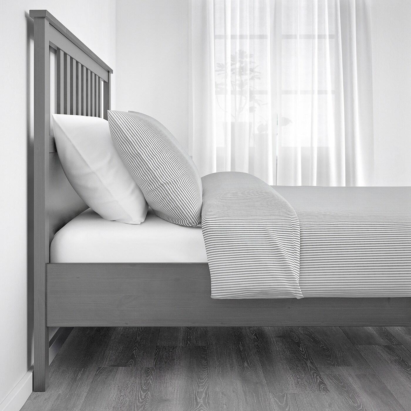 Full Size of Ikea Hemnes Bett 160x200 Grau Bettgestell Lasiert Deutschland Sitzbank 160 Schlafsofa Liegefläche Rauch Betten 180x200 120x200 Weiß Mit Schubladen Bei Wohnzimmer Ikea Hemnes Bett 160x200 Grau