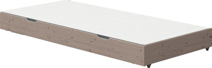 Medium Size of Flexa Classic Gstebett 200cm Mit Ausklappbaren Beinen Interismo Ausklappbares Bett Wohnzimmer Klappbares Doppelbett