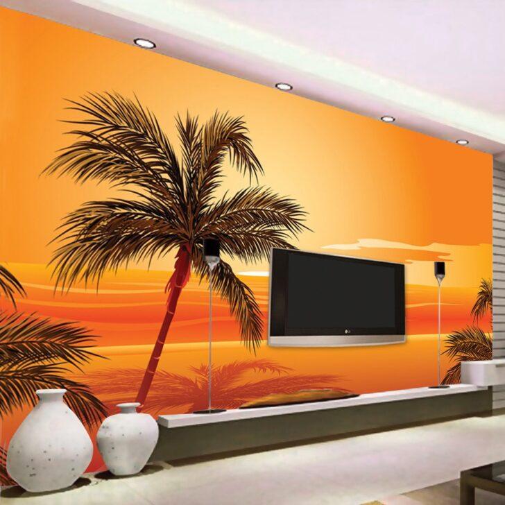 Medium Size of Nach 3d Foto Tapete Sdost Asiatischen Stil Beach Sunset Poster Wohnzimmer Fürs Wandtattoo Schlafzimmer Led Lampen Lampe Schrankwand Wohnzimmer Wohnzimmer Wandbild