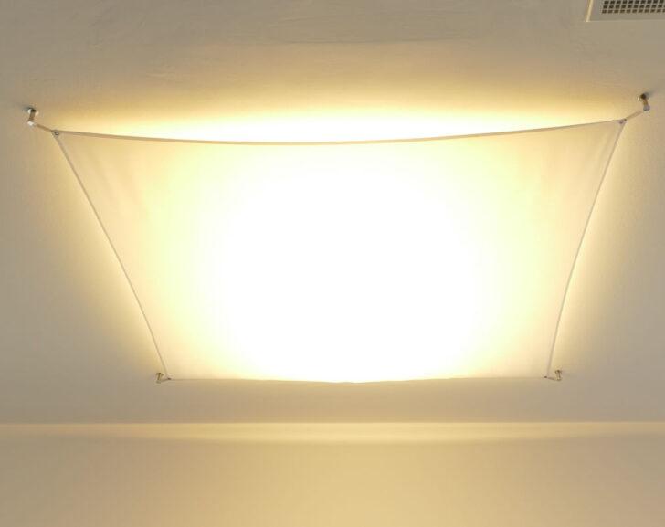 Medium Size of Decken Segeltuch Mit Spannset Kaufen Lichtakzenteat Regale Selber Bauen Spiegellampe Bad Anbauwand Wohnzimmer Landhausstil Wandbild Lampen Rollo Stehleuchte Wohnzimmer Wohnzimmer Lampe Selber Bauen