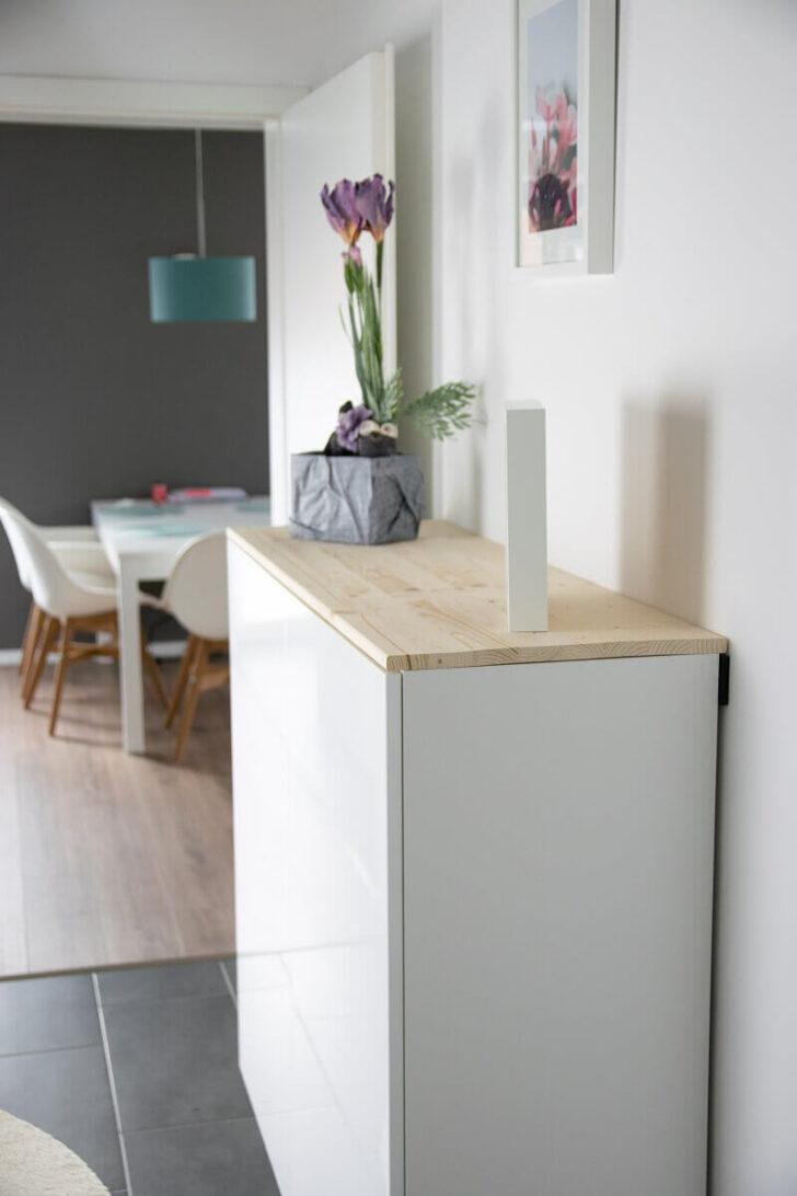 Medium Size of Ikea Hack Fr Mehr Stauraum Im Flur Aus Kchenschrank Wird Sideboard Modulküche Küche Kaufen Betten Bei Miniküche Anrichte 160x200 Sofa Mit Schlaffunktion Wohnzimmer Anrichte Ikea