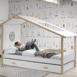 Hausbett Cokomplett Mit Einzelbett Und Bettschublade Wei Küchen Regal Wohnzimmer Cocoon Küchen