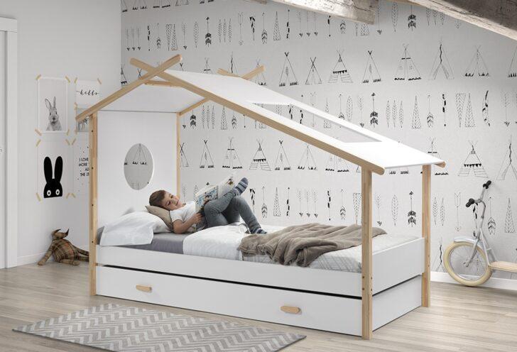 Medium Size of Hausbett Cokomplett Mit Einzelbett Und Bettschublade Wei Küchen Regal Wohnzimmer Cocoon Küchen