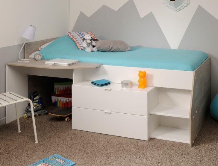 5566630b2fa32 Bett Mit Schubladen 90x200 Weiß Mädchen Weißes Betten Kiefer Bettkasten Lattenrost Und Matratze Wohnzimmer Kinderbett Mädchen 90x200