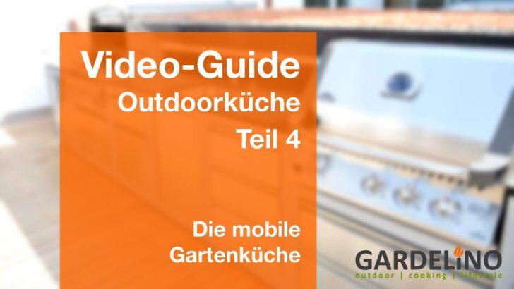 Medium Size of Mobile Outdoorküche Outdoorkche Ratgeber Gartenkche Teil 4 Youtube Küche Wohnzimmer Mobile Outdoorküche