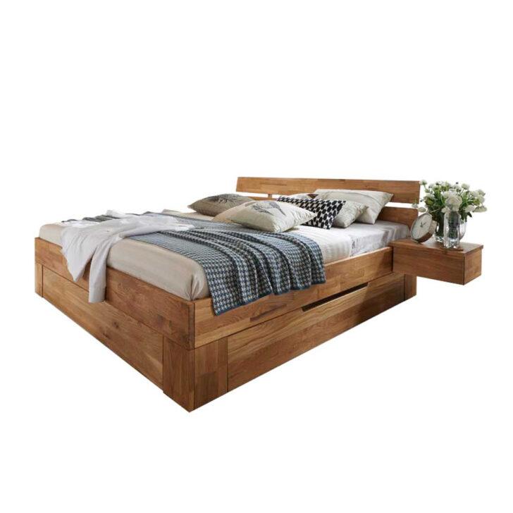 Bett 200x200 Mit Bettkasten Stauraum Komforthöhe Betten Weiß Wohnzimmer Stauraumbett 200x200