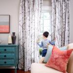 Wie Du Perfekten Gardinen Nhst Spoonflower Küche Für Scheibengardinen Wohnzimmer Schlafzimmer Die Fenster Wohnzimmer Gardinen Nähen