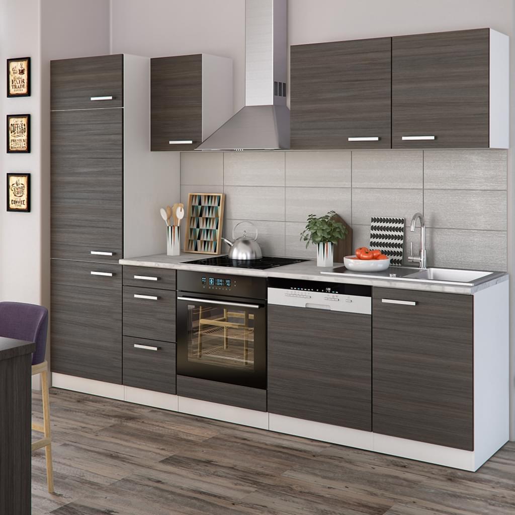 Full Size of Vicco Kche 270 Cm Kchenzeile Kchenblock Real Küchen Regal Wohnzimmer Real Küchen