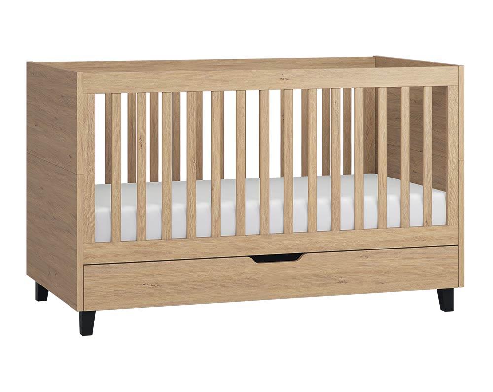 Full Size of Babybett Schwarz Simple 140x70 Eiche Online Kaufen Bei Zimmeria Schwarze Küche Bett 180x200 Schwarzes Weiß Wohnzimmer Babybett Schwarz