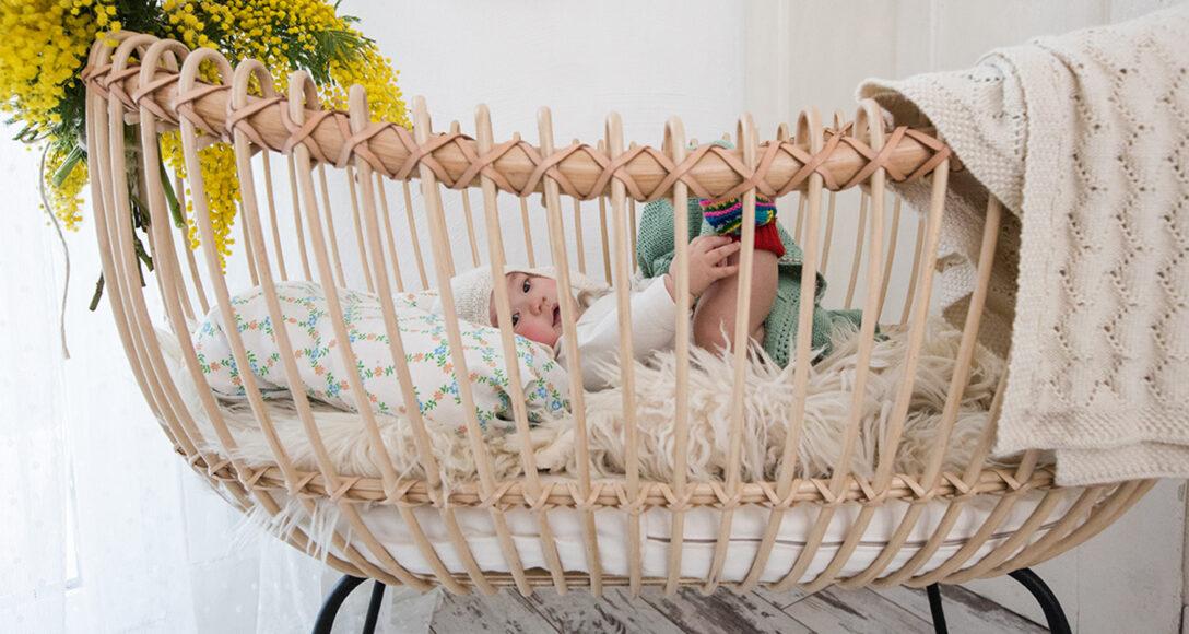 Large Size of Trendwatch Schnsten Babybetten Aus Rattan Auf Pinterest Nolte Betten Bestes Bett Wildeiche Schramm Flexa 180x200 Günstig Badewanne Bette Im Schrank Wohnzimmer Bett Rattan