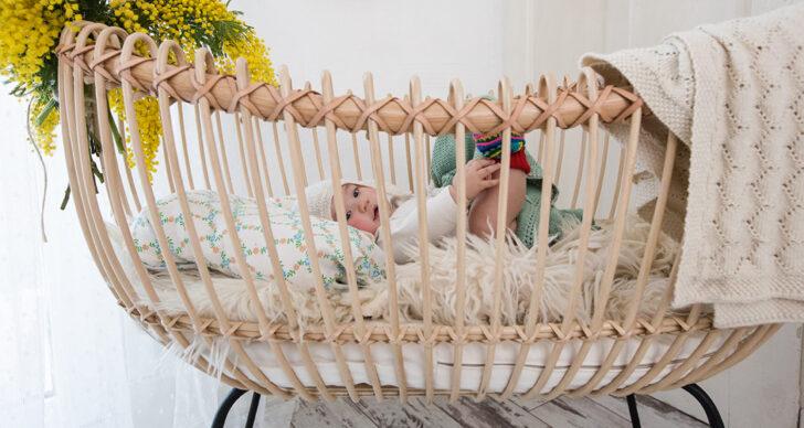Medium Size of Trendwatch Schnsten Babybetten Aus Rattan Auf Pinterest Nolte Betten Bestes Bett Wildeiche Schramm Flexa 180x200 Günstig Badewanne Bette Im Schrank Wohnzimmer Bett Rattan