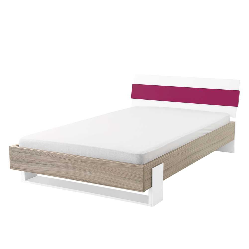 Full Size of Futonbett 100x200 Mit Kopfteil Holz Dekor Pink Wei Oedo Wohnende Bett Weiß Betten Wohnzimmer Futonbett 100x200
