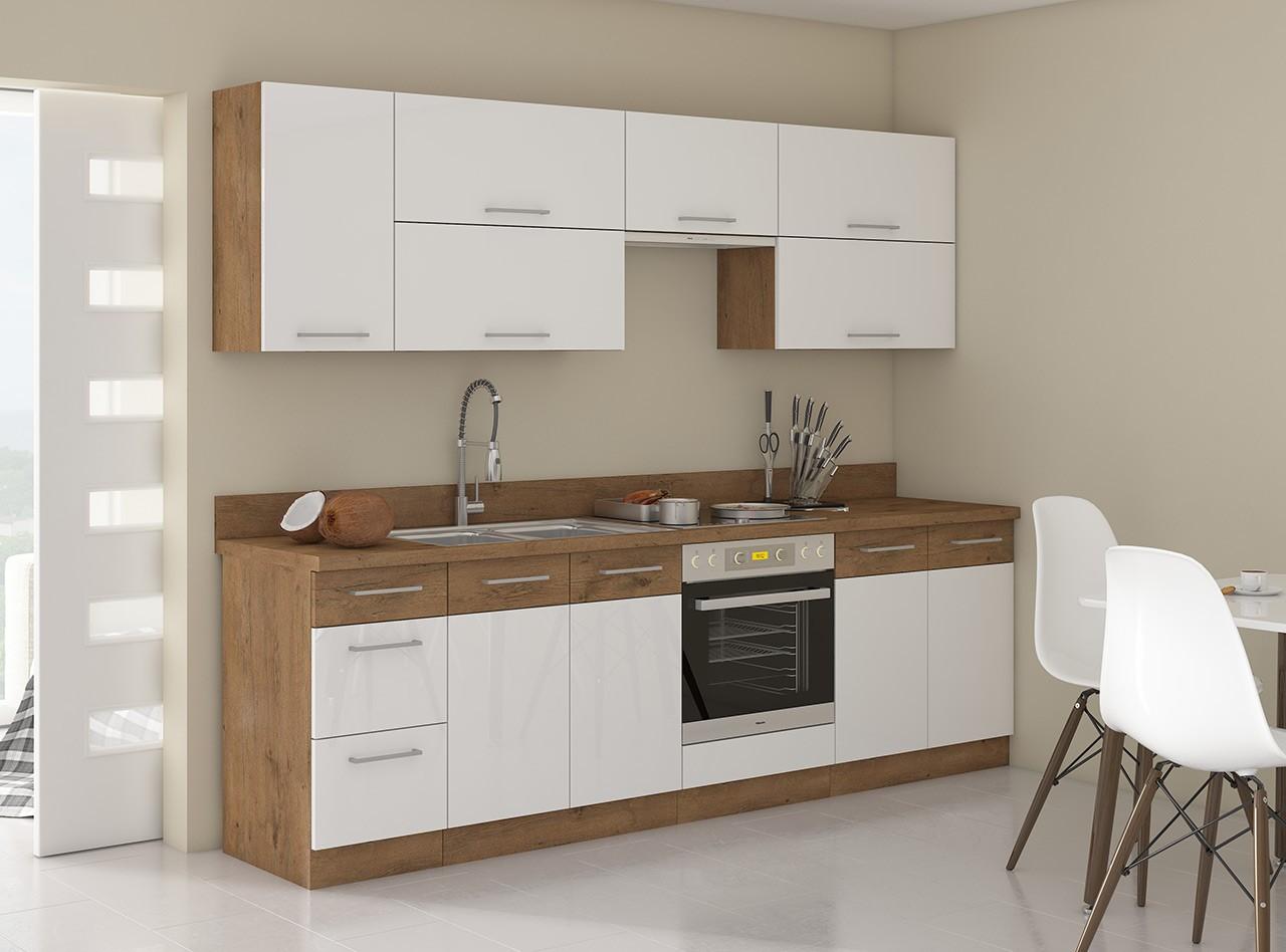 Full Size of Kchenmbel Woodline Ii Lieferung Kostenlos Mirjan24 Wohnzimmer Küchenmöbel