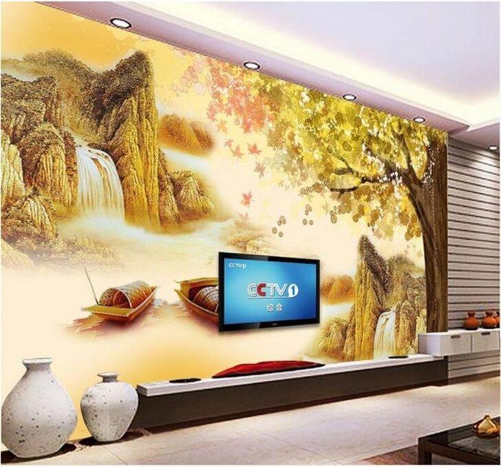 Medium Size of Wohnzimmer Wandbild China Tapeten Lieferanten 3d Wallpaper Fototapete Relaxliege Vorhänge Stehlampen Led Deckenleuchte Landhausstil Deckenlampe Vorhang Wohnzimmer Wohnzimmer Wandbild