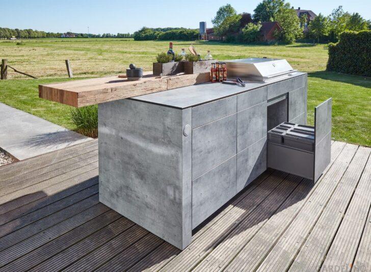 Medium Size of Bbqtion Outdoor Kche Von Village Garden Mobile Küche Wohnzimmer Mobile Outdoorküche