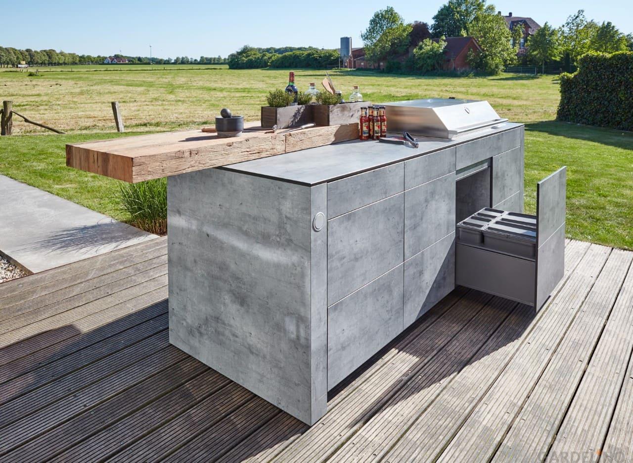 Full Size of Bbqtion Outdoor Kche Von Village Garden Mobile Küche Wohnzimmer Mobile Outdoorküche