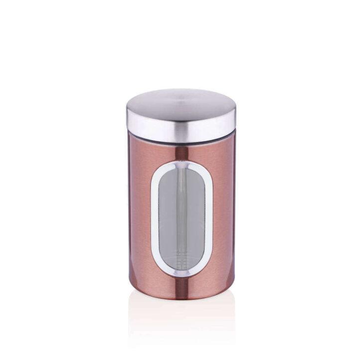 Medium Size of Aufbewahrungsbehälter Bernardo 12x20 Cm Aufbewahrungsbehlter Metall Kupferfarbe Küche Wohnzimmer Aufbewahrungsbehälter