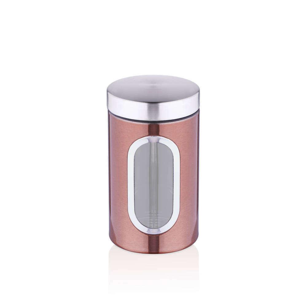 Full Size of Aufbewahrungsbehälter Bernardo 12x20 Cm Aufbewahrungsbehlter Metall Kupferfarbe Küche Wohnzimmer Aufbewahrungsbehälter