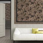 Tapeten 2020 Wohnzimmer Wohnzimmer Tapeten 2020 Wohnzimmer Trends Moderne Tapetentrends Trendbook Fertigtapeten Special Vliese M Plus Liege Decke Hängeschrank Led Deckenleuchte Schrankwand Sofa