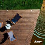 Abtrennwand Garten Eine Holz Terrasse Ohne Schrauben Unsere Bamboo Treme Dielen Schwimmingpool Für Den Liege Fussballtor Loungemöbel Und Landschaftsbau Wohnzimmer Abtrennwand Garten