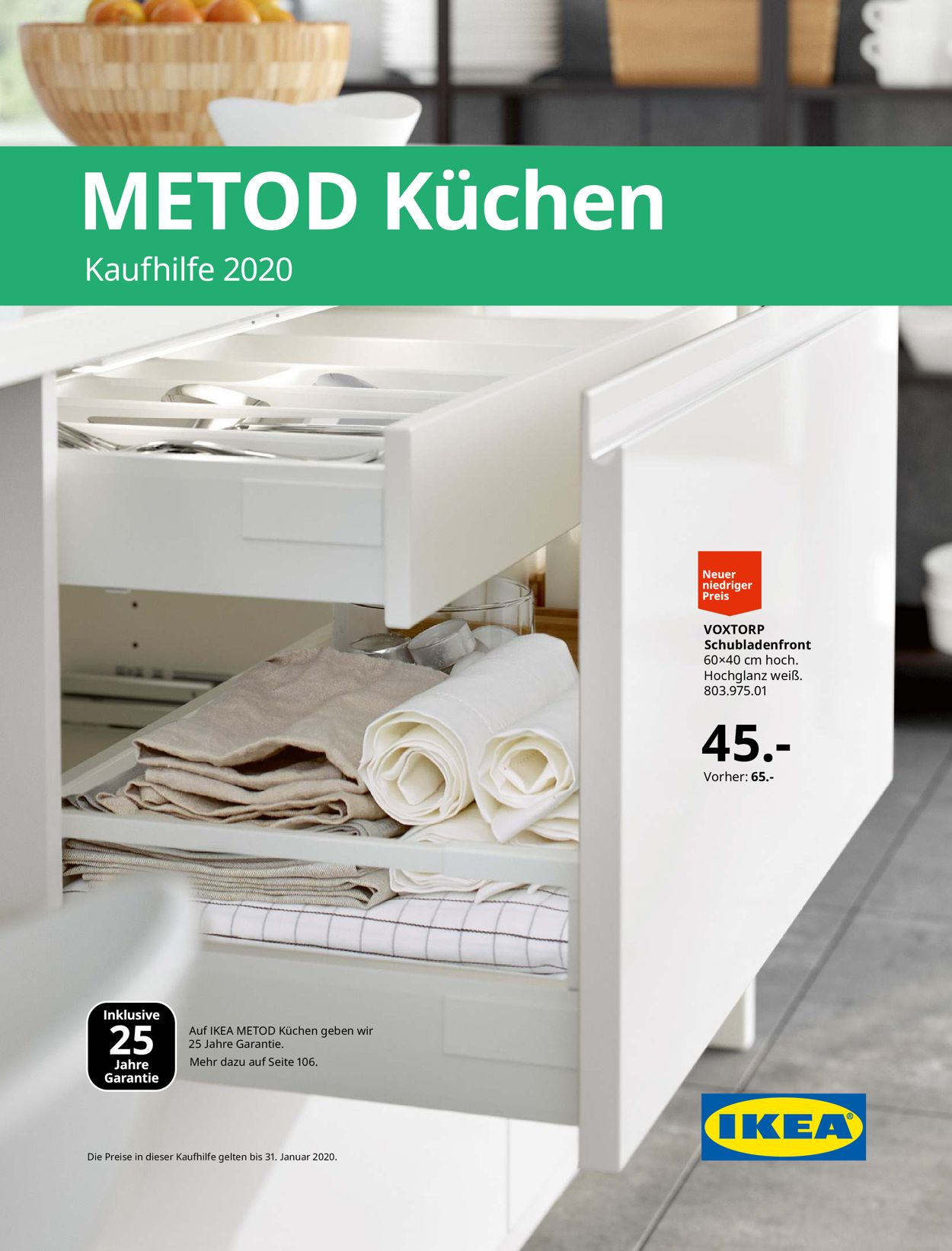 Full Size of Ikea Küchen Preise Aktueller Prospekt 0508 31012020 Jedewoche Rabattede Küche Kosten Betten 160x200 Regal Velux Fenster Modulküche Veka Holz Alu Miniküche Wohnzimmer Ikea Küchen Preise