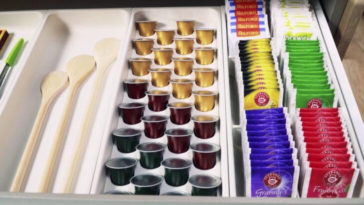 Medium Size of Schubladeneinsatz Teller Fr Nespresso Kapseln Flexispace 370x148 Mm Küche Sofa Hersteller Wohnzimmer Schubladeneinsatz Teller