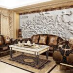 Wohnzimmer Natur Mhome Kunst Arble Relief Tv Led Beleuchtung Schrank Rollo Board Stehleuchte Liege Wohnwand Teppich Lampe Sofa Kleines Regal Naturholz Gardine Wohnzimmer Bilder Wohnzimmer Natur