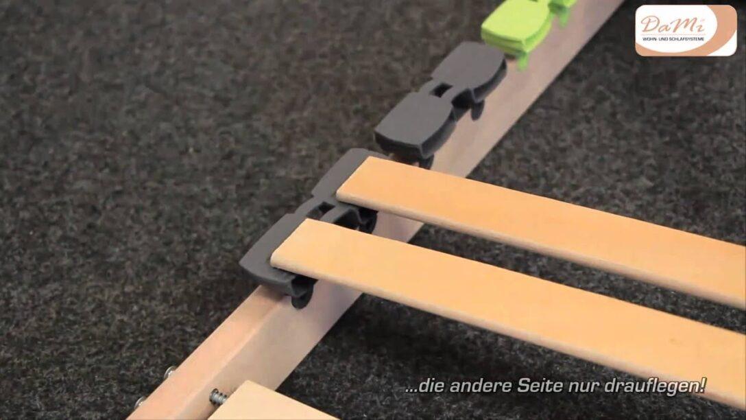 Large Size of Aufbauanleitung Dami Lattenrost Basic Nv Youtube Bett 180x200 Komplett Mit Und Matratze 160x200 140x200 Ikea Sofa Schlaffunktion Ausklappbares Ausklappbar Wohnzimmer Lattenrost Klappbar Ikea