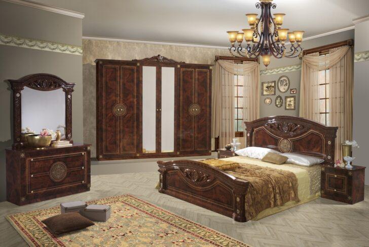 Medium Size of Schlafzimmer Braun Barock Set In Romina 4 Teilig Ebay Weißes Wiemann Betten Komplette Big Sofa Sessel Leder Deckenlampe Günstig Massivholz Kommode Komplett Wohnzimmer Schlafzimmer Braun