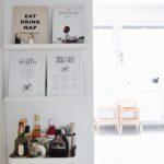 Interior 5 Tipps Fr Mehr Hygge In Der Kche Kitchen Tour Hängeregal Küche Sitzgruppe Mit Insel Abfalleimer Rolladenschrank Spülbecken Arbeitsplatte Wohnzimmer Küche Mint
