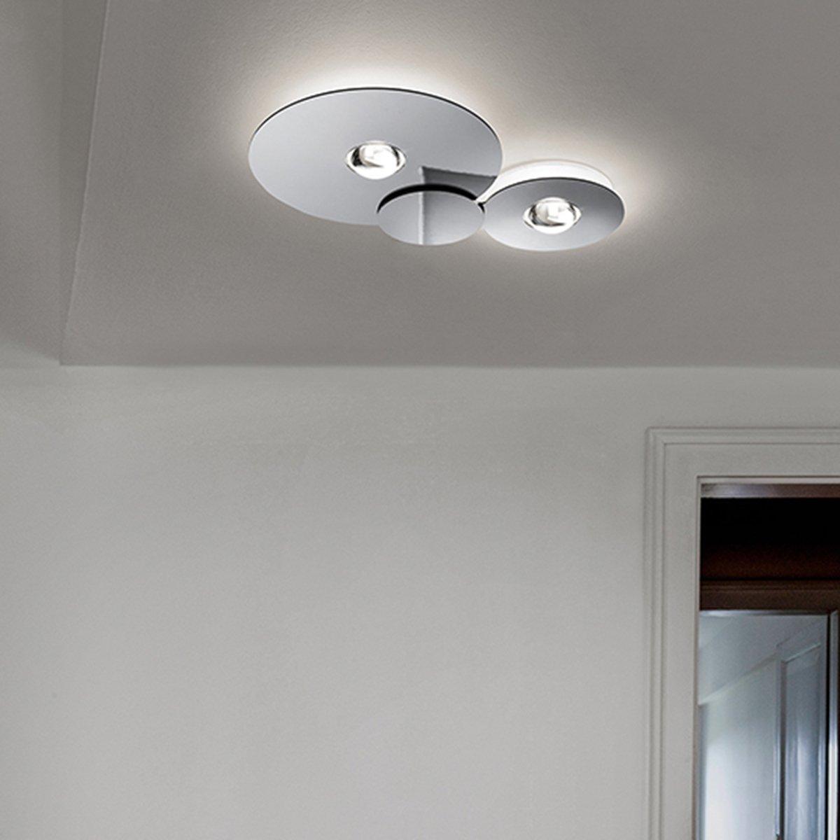 Full Size of Studio Italia Design Deckenleuchte Bugia Double 2700 K Designer Badezimmer Deckenleuchten Küche Led Schlafzimmer Modern Wohnzimmer Bad Lampen Esstisch Regale Wohnzimmer Deckenleuchte Design