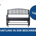 Gartenschaukel Metall Outsunny Schaukelbank Gartenbank Sitzbank 2 Regal Weiß Bett Regale Wohnzimmer Gartenschaukel Metall