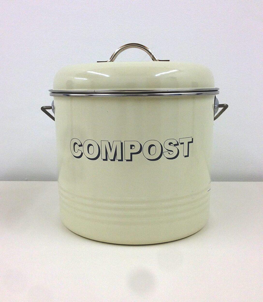 Large Size of Lesser Pavey Kchenabfalleimer Fr Kompost Im Retro Vintage Wohnzimmer Küchenabfalleimer