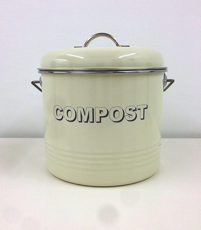 Full Size of Lesser Pavey Kchenabfalleimer Fr Kompost Im Retro Vintage Wohnzimmer Küchenabfalleimer