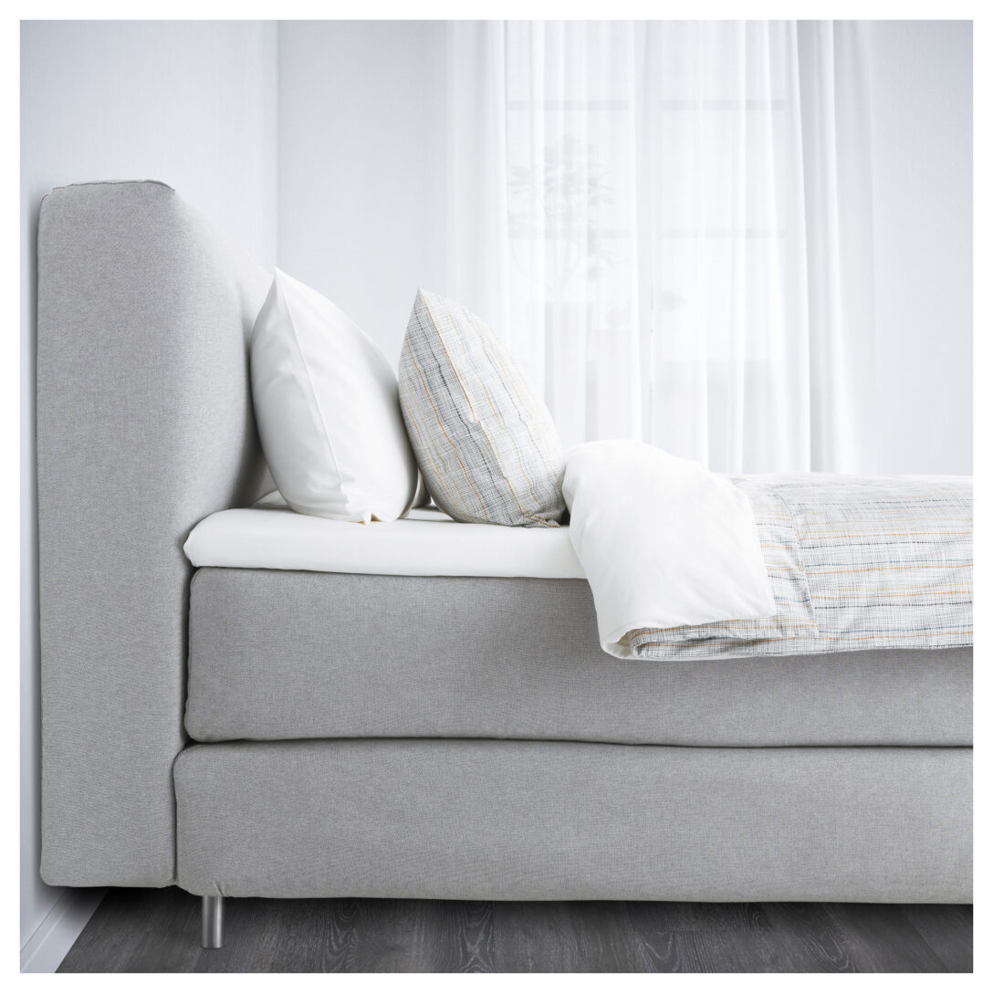Large Size of Boxspringbett Mjlvik Von Ikea Der Groe Bettentest Sofa Mit Schlaffunktion Küche Kosten Betten 160x200 Kaufen Modulküche Miniküche Bei Wohnzimmer Boxspringbetten Ikea