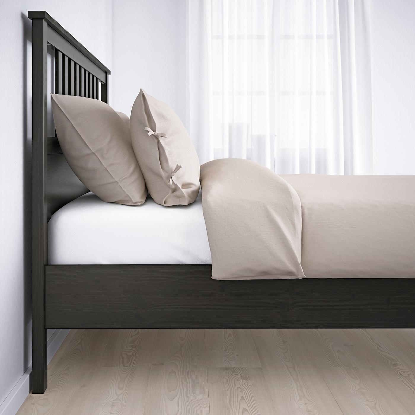 Full Size of Ikea Hemnes Bett 160x200 Grau Bettgestell Schwarzbraun Deutschland Ausziehbares Schwarz Weiß Coole Betten Minion Himmel Bettkasten 3er Sofa Massivholz 180x200 Wohnzimmer Ikea Hemnes Bett 160x200 Grau