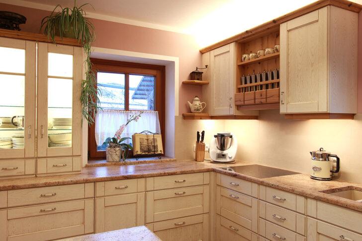 Holzküche Landhausstil Landhauskchen Modern Wohnzimmer Regal Schlafzimmer Weiß Esstisch Küche Betten Bett Wohnzimmer Holzküche Landhausstil