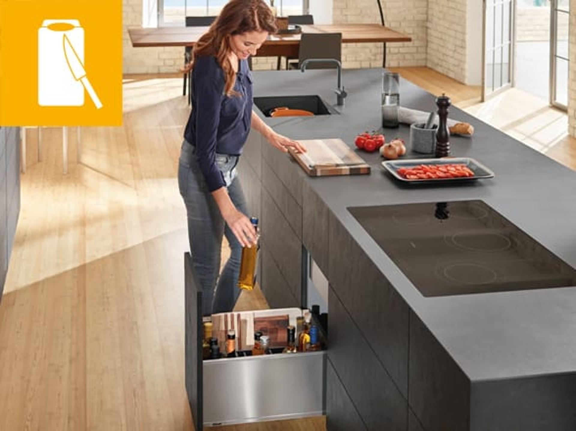 Full Size of Küchenkarussell Ideen Fr Praktische Kchen Blum Wohnzimmer Küchenkarussell
