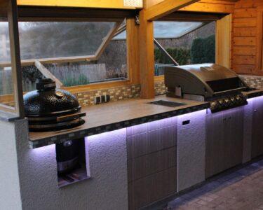 Gemauerte Küche Wohnzimmer Gemauerte Küche Outdoorkche Gemauert Mit Einbau Gasgrill Und Monolith Baubericht Wasserhahn Spülbecken Glasbilder Inselküche Insel Schneidemaschine