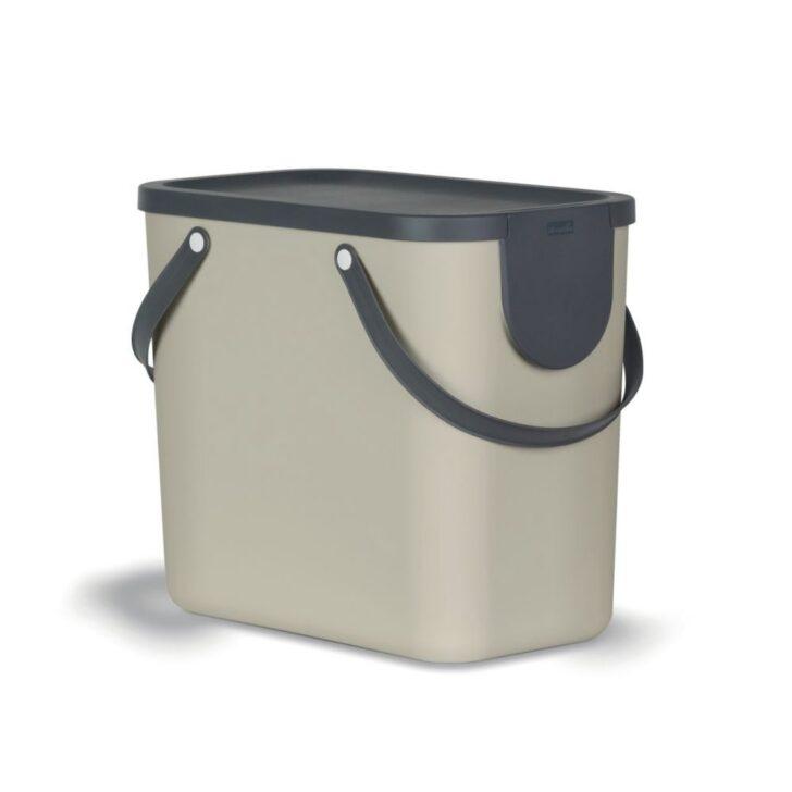 Medium Size of Rotho Recycling Mllsystem 25 Liter Albula Cappuccino Müllsystem Küche Wohnzimmer Müllsystem