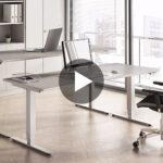 Stehhilfe Büro Ikea Hammerbacher Schreibtisch Elektrisch Hhenverstellbar Serie Xdsm Küche Kosten Büroküche Betten 160x200 Sofa Mit Schlaffunktion Bei Wohnzimmer Stehhilfe Büro Ikea